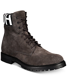 Hugo Boss Men's Explore Suede Leather Boots