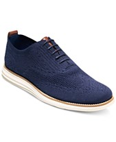 ca9bbc6d67 Cole Haan Men's Original Grand Stitchlite Wingtip Oxfords