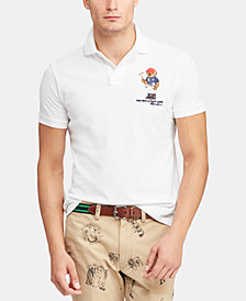 Polo Ralph Lauren Men's Classic Fit Polo Bear  Polo