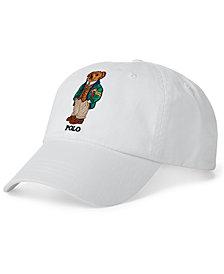 Polo Ralph Lauren Men's Polo Bear Cotton Baseball Cap