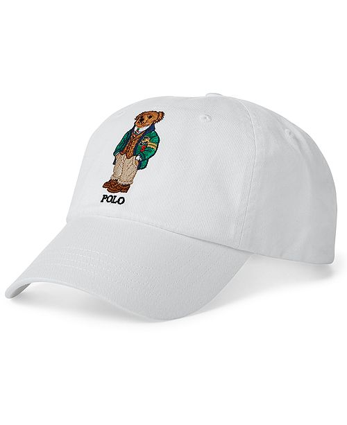 e1f16fde15f9a ... Polo Ralph Lauren Men s Polo Bear Cotton Baseball Cap