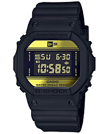 G-Shock Men's Digital New Era Black Resin Strap Watch 42.8mm - Limited Edition