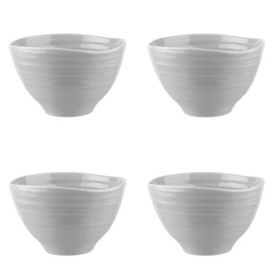 Sophie Conran Grey Small Footed Bowl Set of 4