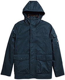 Tommy Hilfiger Adaptive Men's Traveler Coat with Magnetic Zipper