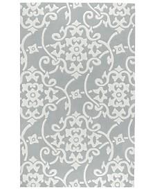 Surya Cosmopolitan COS-8828 Medium Gray 2' x 3' Area Rug