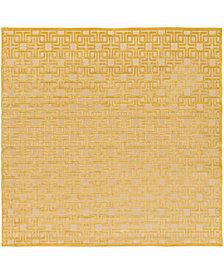 "Surya Portera PRT-1057 Mustard 7'6"" Square Area Rug"