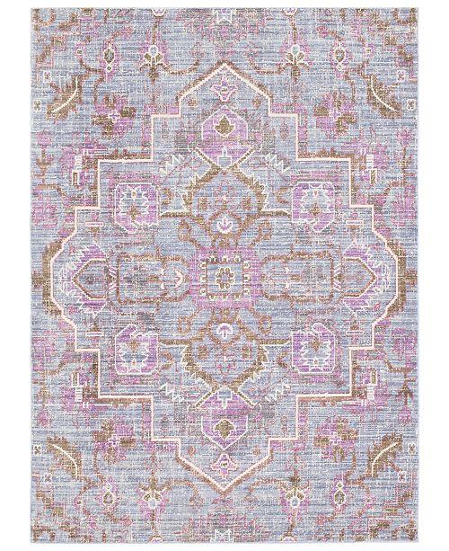 "Surya Germili GER-2317 Bright Purple 7'10"" x 10'3"" Area Rug"