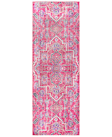 "Surya Germili GER-2320 Bright Pink 2'11"" x 7'10"" Runner Area Rug"