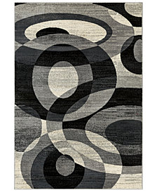 "Surya Riley RLY-5106 Medium Gray 2' x 3'3"" Area Rug"