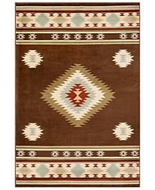 "Surya Paramount PAR-1083 Dark Brown 8'10"" x 12'9"" Area Rug"
