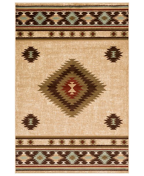 "Surya Paramount PAR-1085 Dark Brown 7'9"" x 11'2"" Area Rug"