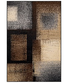 "Paramount PAR-1086 Dark Brown 8'10"" x 12'9"" Area Rug"