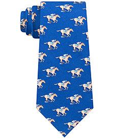 Tommy Hilfiger Men's Derby Classic Printed Silk Twill Tie
