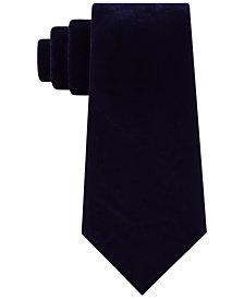 Sean John Men's Classic Velvet Tie