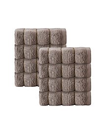 Enchante Home Vague 8-Pc. Wash Towels Turkish Cotton Towel Set