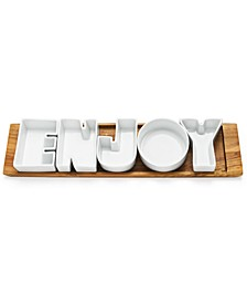 Words Enjoy Serving Set, Created for Macy's