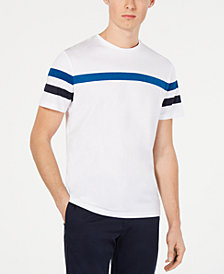 Calvin Klein Men's Striped Sleeve T-Shirt