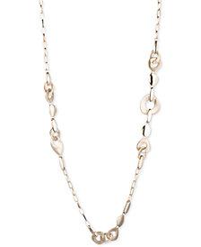 """Carolee Gold-Tone Link 36"""" Station Necklace"""
