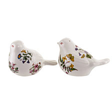 Portmeirion Botanic Garden Bird Shaped Salt and Pepper Set