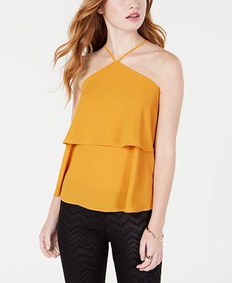 Material Girl Juniors Popover Blouse Created For Macy S Tops