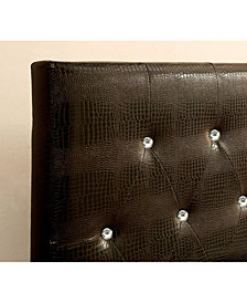 Chasidy Full Queen Faux Leather Headboard