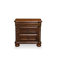 Mallory 2-drawer Nightstand, Quick Ship