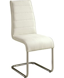 Dorazio Tufted Leatherette Dining Chair