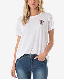 O'Neill Juniors' Cotton Beach Day Graphic-Print T-Shirt