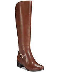 Anne Klein Jamari Wide-Calf Boots