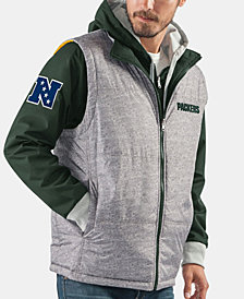 G-III Sports Men's Green Bay Packers 2-in-1 Jacket and Vest