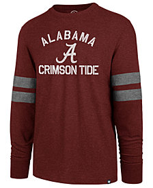 '47 Brand Men's Alabama Crimson Tide Long Sleeve Scramble T-Shirt