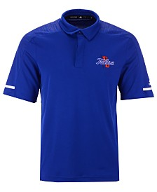 adidas Men's Tulsa Golden Hurricane Team Iconic Coaches Polo