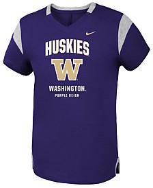 Nike Washington Huskies Fan V Top, Girls (4-16)