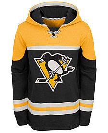 Outerstuff Pittsburgh Penguins Asset Hoodie, Big Boys (8-20)