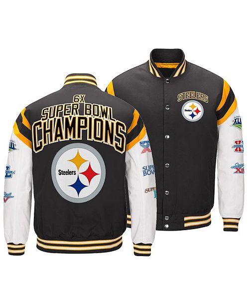 online store ffd8c 429da Authentic NFL Apparel Men's Pittsburgh Steelers Home Team ...