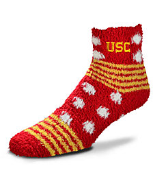 For Bare Feet USC Trojans Homegater Sleep Soft Socks