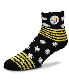 For Bare Feet Pittsburgh Steelers Homegater Sleep Soft Socks