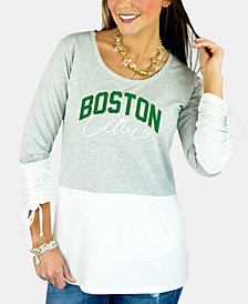 Gameday Couture Women's Boston Celtics Embellished Tunic Top