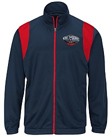 G-III Sports Men's New Orleans Pelicans Clutch Time Track Jacket