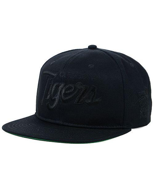 559992c7b04 ... Nike Clemson Tigers Sport Specialties Black on Black Snapback Cap ...