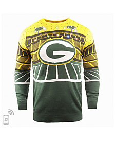 Forever Collectibles Men's Green Bay Packers Bluetooth Sweater