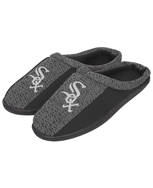 b6c0f49c71e14 Forever Collectibles Chicago White Sox Knit Cup Sole Slippers