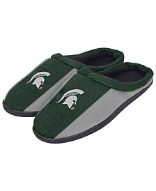 Forever Collectibles Michigan State Spartans Knit Cup Sole Slippers