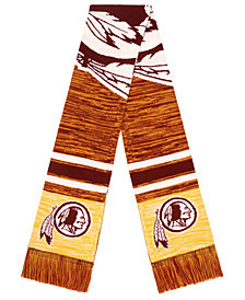 Forever Collectibles Washington Redskins Knit Color Blend Big Logo Scarf