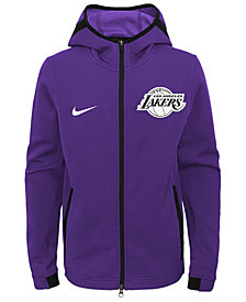 Nike Los Angeles Lakers Showtime Hooded Jacket, Big Boys (8-20)
