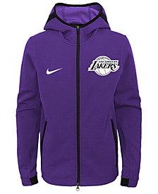 Nike Los Angeles Lakers Showtime Hooded Jacket, Big Boys (8-20)