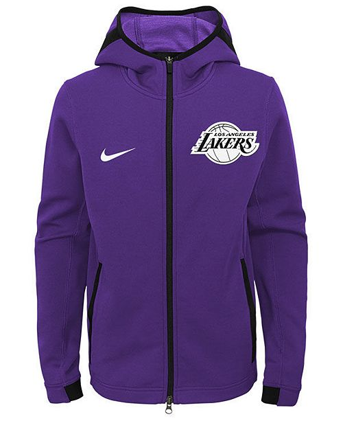 ... Nike Los Angeles Lakers Showtime Hooded Jacket 8e49adc35