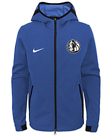 Nike Dallas Mavericks Showtime Hooded Jacket, Big Boys (8-20)