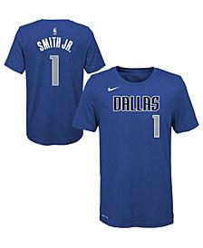 Nike Dennis Smith Dallas Mavericks Icon Name and Number T-Shirt, Big Boys (8-20)