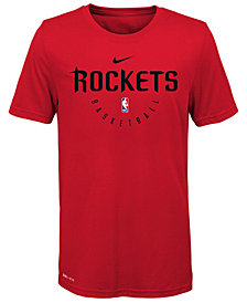 Nike Houston Rockets Elite Practice T-Shirt, Big Boys (8-20)